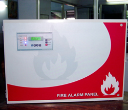 Microprocessor based Industrial Fire Alarm System for up to 256 zone